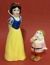 Vintage Disney Snow White & Seven Dwarfs Rare Sneezy Ceramic Figurines