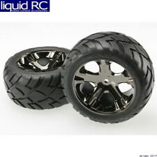 Traxxas 3773A Anaconda Rear Tires/All-Star Wheels Mounted Glued (2)