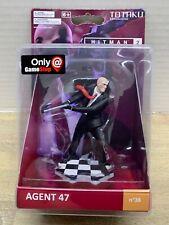 Totaku Collection No 36 ~ Hitman 2 Agent 47 Figure ~ Gamestop Exclusive ~ NIB