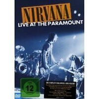 "NIRVANA ""LIVE AT PARAMOUNT"" DVD NEU"