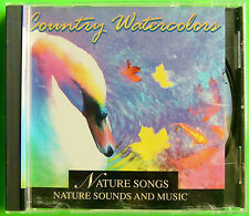 Country Watercolors Nature Songs Sounds & Music Relaxation/Tranquility CD c1996