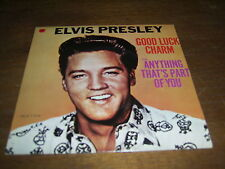 """ELVIS PRESLEY 45 TOURS CANADA GOOD LUCK CHARM"