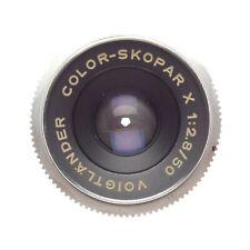 Voigtlander Color-Skopar X Lens 1:2.8/50 fits Bessamatic Film Camera