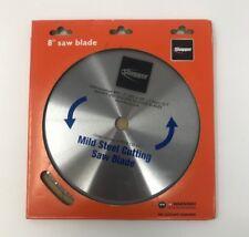 """Slugger 8"""" Saw Blade Mild Steel Cutting Saw Blade 6 99 08 120 44 1 42 T New"""