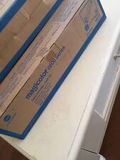 New ! Genuine Konica Minolta Magicolor 8600 Cyan Toner A0D7433.. Free Shipping