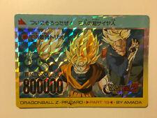 Dragon Ball Z PP Card Prism 803 Version Hard