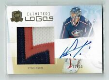 09-10 UD Upper Deck The Cup Limited Logos  Steve Mason  /50  Auto  Patch