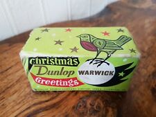 Vintage Dunlop Warwick Christmas Golf Balls In Box