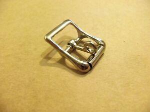 """1/"""" 0.75/"""" 0.5/"""" Zinc Nickel Roller Belt Buckle"""