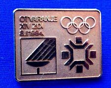 WINTER OLYMPIC GAMES SARAJEVO1984, OPENING CEREMONIES , VERRY RARRE BADGE !