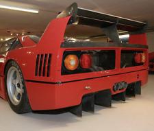 Ferrari F40 LM Rear Diffusers. Bumper Parts Body Panel.