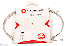 Clarks Galvanised MTB / Hybrid / Road Derailleur Inner Gear Cable 2275mm- carded