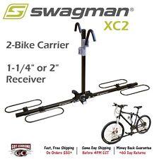"64650 Swagman XC2 Platform Hitch Rack 2 Bike Carrier - 1-1/4"" and 2"" Receiver"