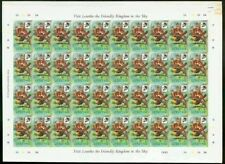 Lesotho 1981 Birds 6s Cape Robins PROOF SHEET OF 40