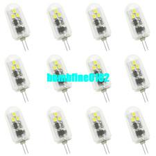 12x Bright G4 LED Bulbs 6 2835-SMD Spot Light Bulb Lamp 3 Watt DC12-24V White
