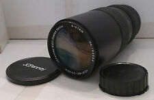 Film Camera Lens JC Penney 67mm 1:3.5 80-200mm Macro - TESTED