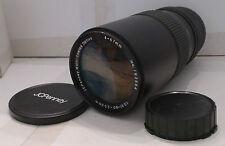 Film Camera Lens JC Penney 67mm 1:3.5 80-200mm Macro - TESTED