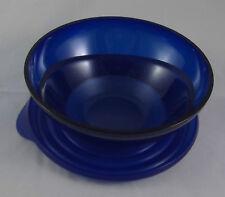 Tupperware C 120 Eleganzia 600 ml Schüssel mit Deckel Blau Glitzer Neu OVP