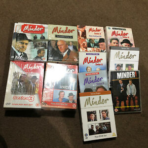 Minder 1-10 The Complete Series And Specials DVD 36 Disc