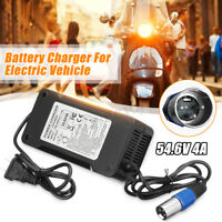 54.6V 4A Output Voltage 48V Lithium Battery Charger For Electric Bicycles E-Bike