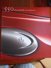Ferrari 550 barchetta pininfarina brochure 2000 ref 1616/00 grand format