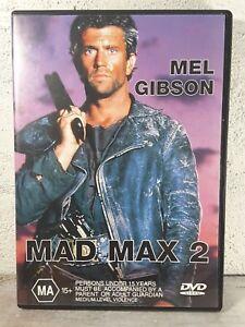 Madmax 2 : The Road Warrior (DVD) 1980s Movie Distopian Desert