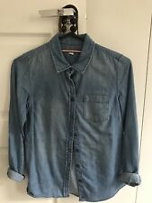 Tommy Hilfiger Womens Denim Shirt - Size Small