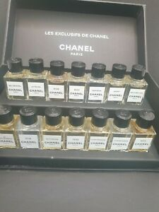 Les EXCLUSIFS de CHANEL DISCOVERY Collection 14 x 4ml EDP GIFT SET very rare