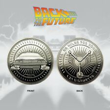 Back to The Future Limited Silver Edition Numbered Coin