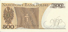 Polen / POLAND - 500 Zlotych 1979 UNC - Pick 145c