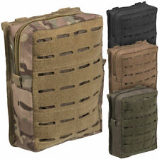 Mil-Tec Large Laser Cut MOLLE Webbing Military Army Cadet Tactical Utility Pouch