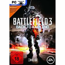 Battlefield 3: Back To Karkand EP (Download Code) (PC, 2011, DVD-Box)