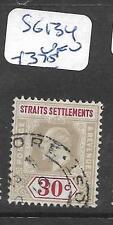 MALAYA STRAITS SETTLEMENTS (P1106B)  KE 30C  SG 134  VFU