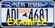 HO 1:87 MONSTER LICENSE PLATES -MODERN 1986+ NEW YORK STATE  VEHICLE CARS TRUCKS