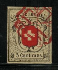 Switzerland #2L7 1851 Used