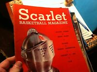 #A-7 OLD SCARLET  BASKETBALL PROGRAM 1979 MEDIA GUIDE WOMEN RUTGERS G W  R I