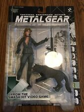 SNIPER WOLF Metal Gear Action Figure by McFarlane Toys Konami 1998
