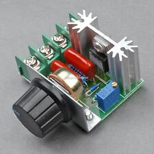 220V 2000W Speed Controller SCR Voltage Regulator Dimming Dimmers SH01