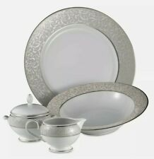 Mikasa Parchment 5-Piece Serving Set Completer Porcelain Dinnerware New #54