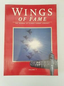 Book paperback -Wings Of Fame -Volume 7- The Journal of Classic Combat Aircraft