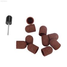 E960 695F Mandrel+Sanding Cap Pedicure Tools Electric Nail Art Drill Accessories