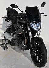 Bulle Saute Vent ERMAX Taille 36 cm Yamaha MT 125 2014/2015 Avec Fixation