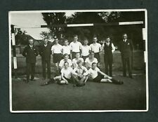 Unusual Vintage Photo Mens Soccer Team w/ Coaches 391052