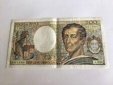 Billet France 200 Francs Montesquieu 1990 (55-14)