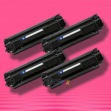 4 Non-OEM Alternative BLACK TONER for HP CB436A 36A LaserJet M1120 M1120n