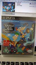Phineas und Ferb Quer durch die 2nd Dimension Spiel + 4 gratis Episoden ps3 NEU