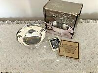 "Gorham Silver Plate Paul Revere 5"" Diameter Bowl # YC778 Plastic Liner"
