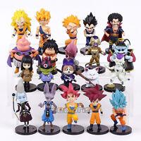 Dragon Ball Z figures 20pcs Son Goku Vetega Majin Buu Freeza Beerus
