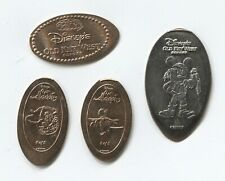 RES6263 - 4 elongated coins (3 pennies 1 Q) Old Key West Resort @ Disney World