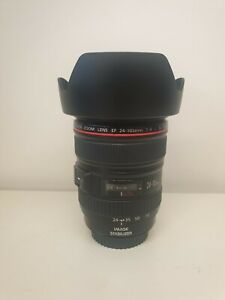 Canon EF 24-105mm F4L IS USM - Brand New condition, Free Kenko UV Filter